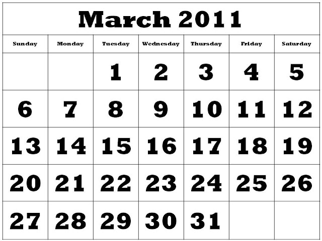 2011 calendar march april. 2011 calendar march april.