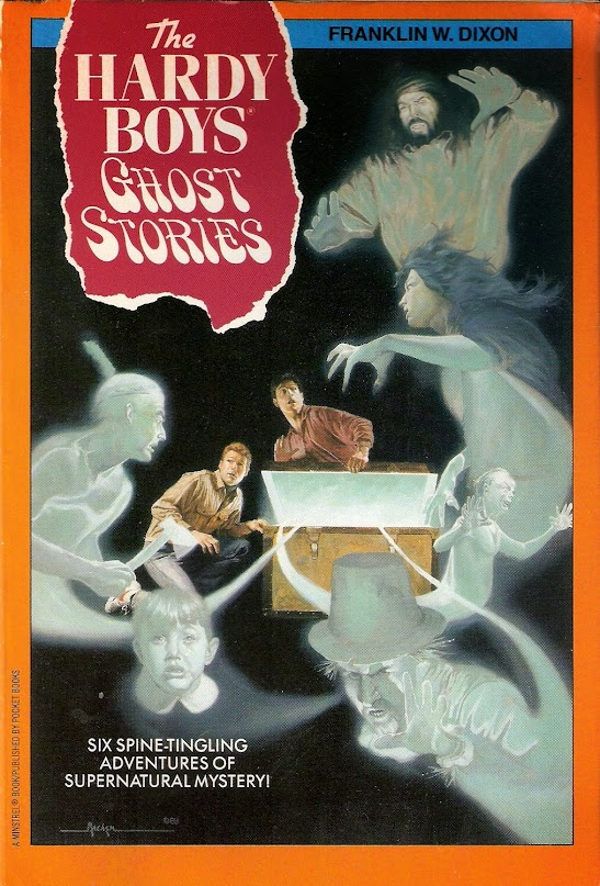 The Hardy Boys Ghost Stories cover