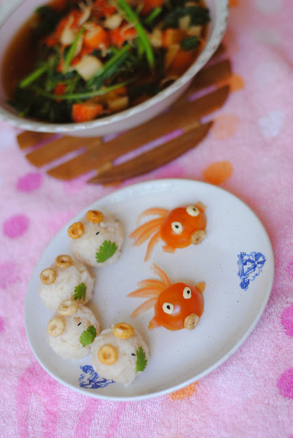 easy sushi rice balls with balsamic vinegar recipe ServicefromHeart