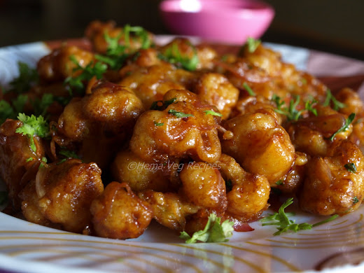 Gobi Manchurian or Cauliflower Manchurian