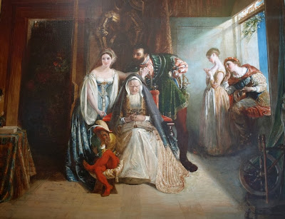 Daniel Maclise - Francis The First And Diane Of Poitiers