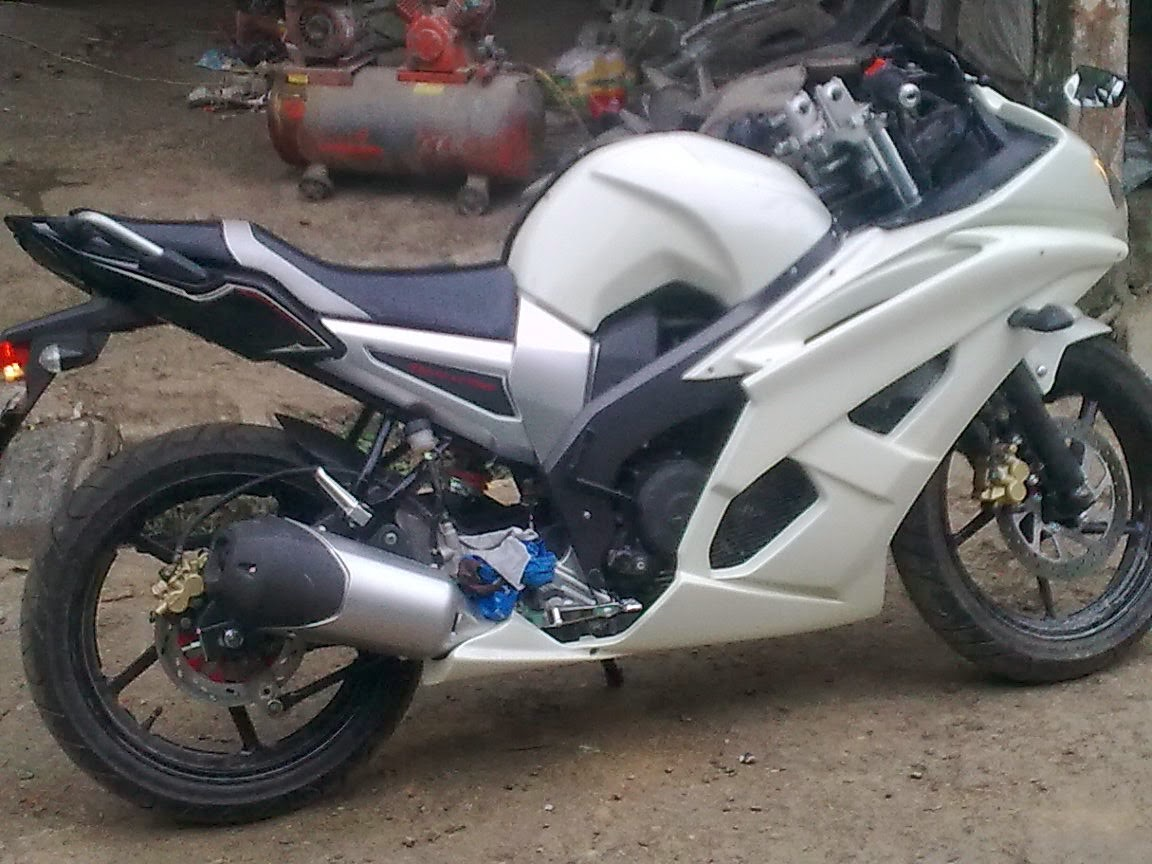 Modifikasi Byson Ala R6