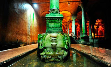 Basilica Cistern.  2015 Eat Smart in Turkey Culinary Tour