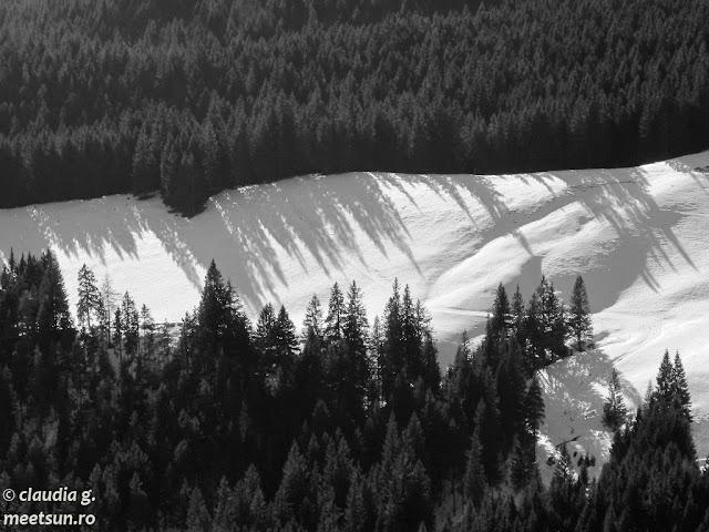 peisaj de iarna pe munte