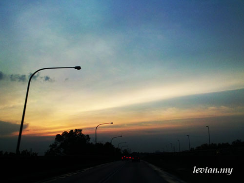 Sunset (SE Vivaz)