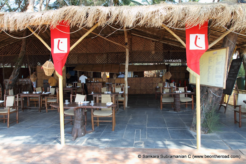 A look at Cortas beach restaurant on Rajbaga Beach