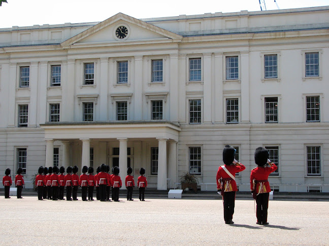 Changing of the guards at the garrison nearby Buckingham Palace, London, United Kingdom