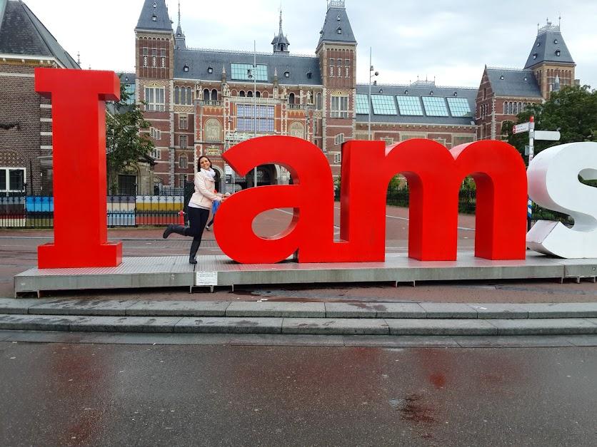 Carol em Amsterdã