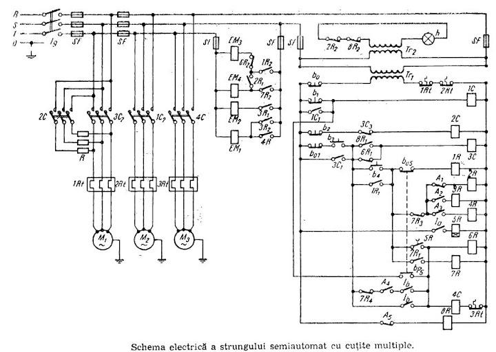 schema electrica  u2013 strung semiautomat st 2  u00ab scheme