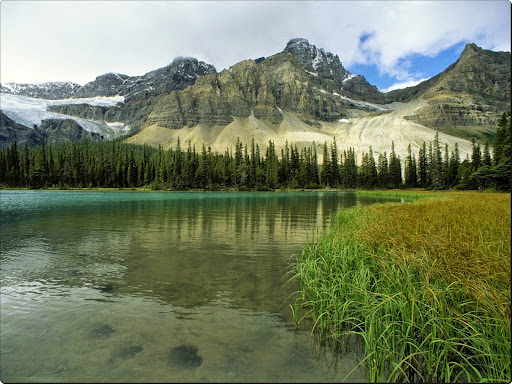 Glacial Lake, Rocky Mountains, Alberta, Canada.jpg