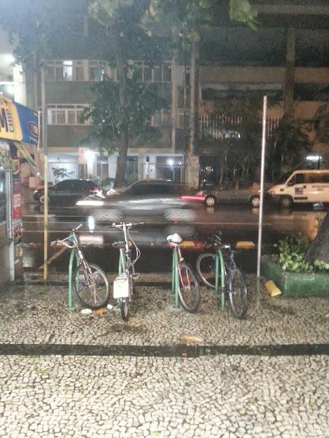 Bicicletário em Copacabana