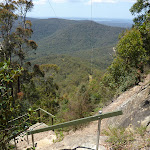 Steps just below Heaton Gap Lookout (359162)