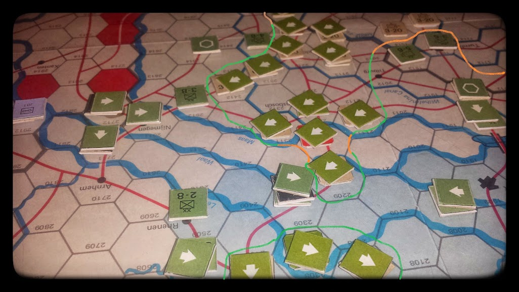 Road to the Rhine - 4th impulse - German counterattack