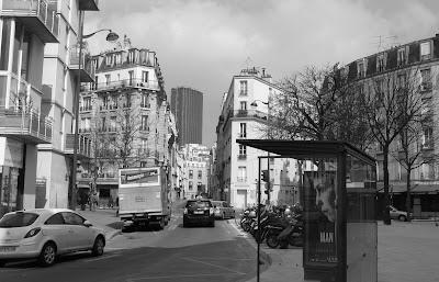 La place Moro Giafferi aujourd'hui (photo de Mme Huguette LE BAYON - DAL BOSCO)