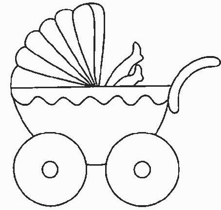 Dibujos de carreolas para baby shower - Imagui