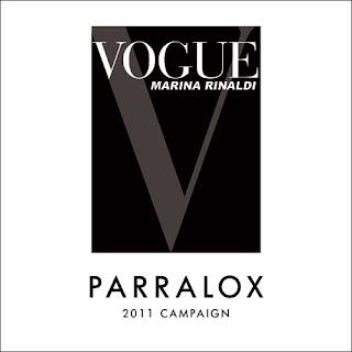 Parralox in Italian Vogue + Marina Rinaldi Jeans Campaign