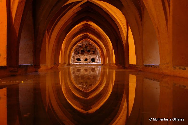 Reflexos na cisterna