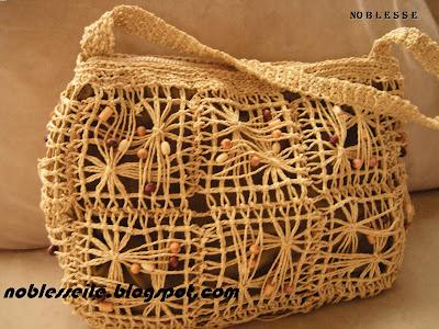 örgü yazlık çanta
