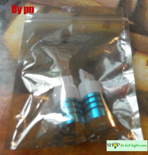 Светодиодная лампа T10 W5W 1 Cree Q5