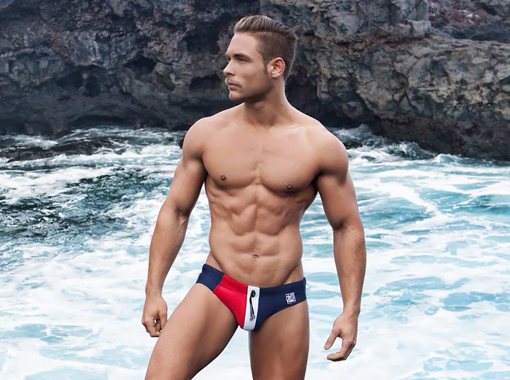 Hot guy in a Speedo