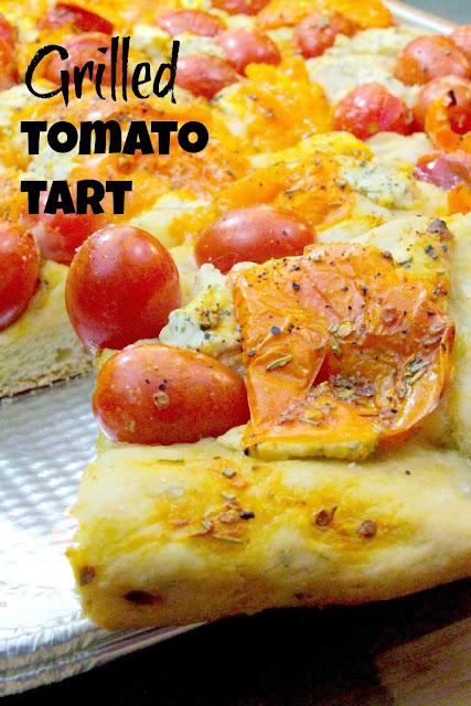 Grilled Tomato Tart