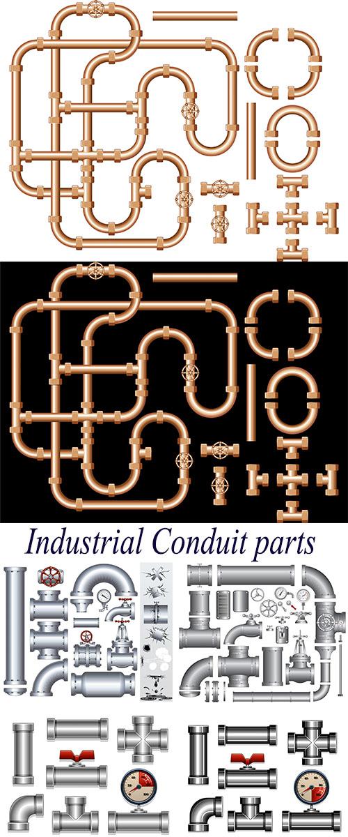 Stock: Industrial Conduit parts