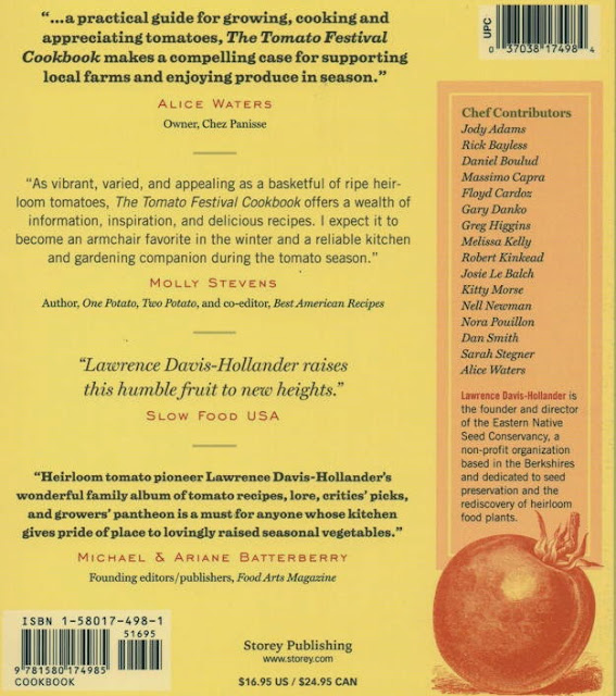 The Tomato Festival Cookbook