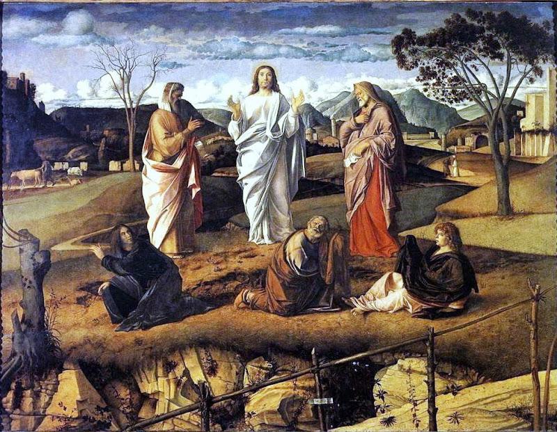 Giovanni Bellini - Transfiguration of Christ