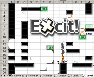 excit spreadsheet game