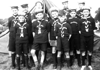 Richard Holley as a Scout (top right)