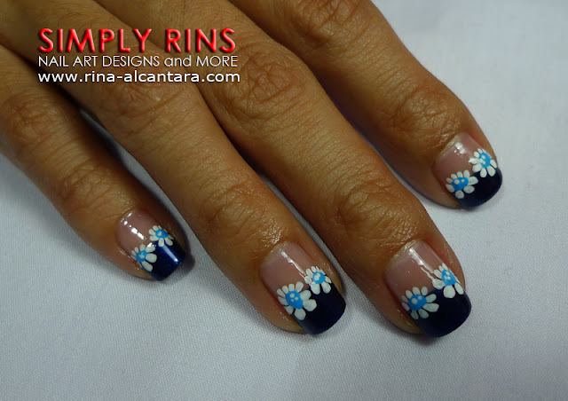 Feeling Blue Nail Art Design 03