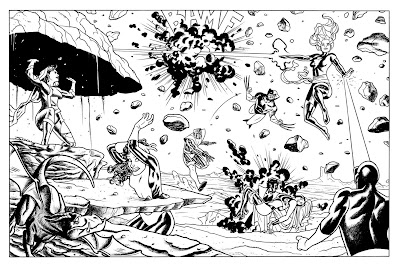 X-Men: First Pin-Up by Joe Quinones