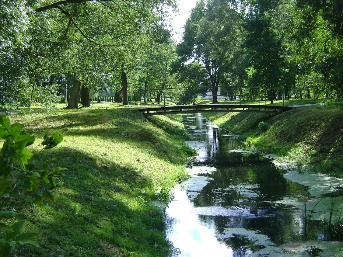 Łoździeje, park, Litwa