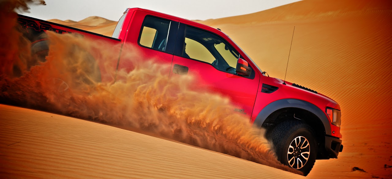 Ford Raptor in Al Wagan