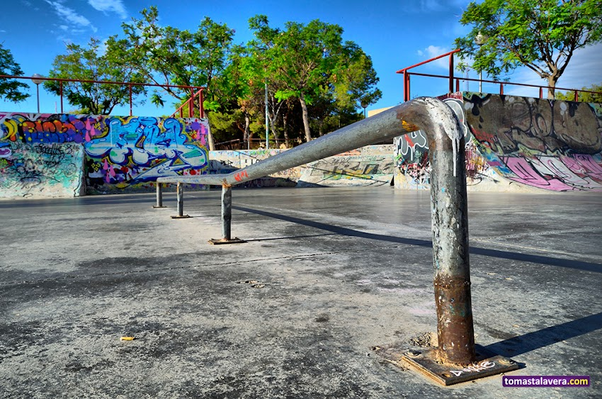 Nikon D5100, 18-55 mm, Urbana, Skatepark, Monte Tossal, Alicante, Parques, Grafiti,