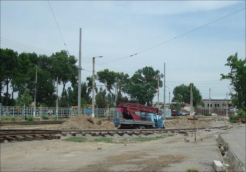 Строительство нового трамвайного кольца