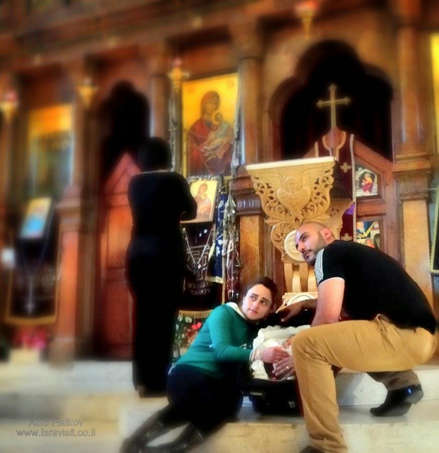 Церковь  Двенадцати Апостолов. Капернаум.  Экскурсия в Галилею Христианскую. Гид Светлана Фиалкова.