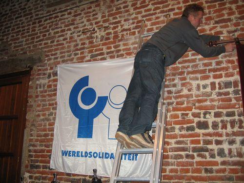 Voor Wereldsolidariteit is, ook voor Emiel Van Eeckhoudt, geen muur te hoog.