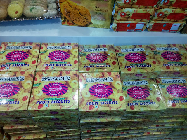 Fruit biscuits from Karachi Bakery