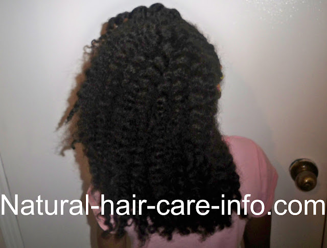 maintaining a twist out