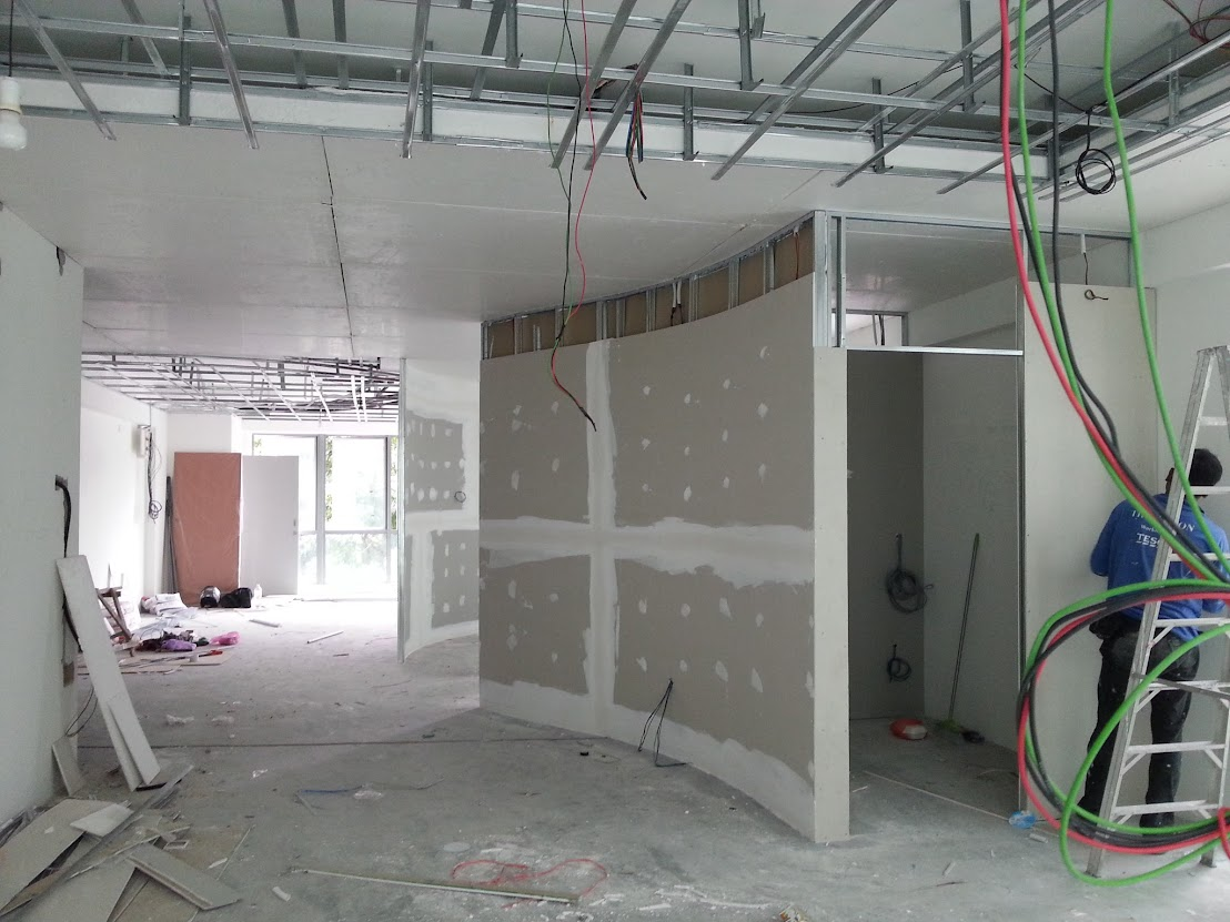 cover plaster ceiling