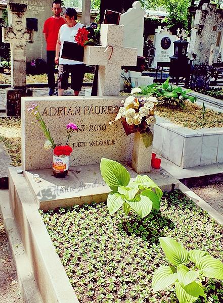 mormant adrian paunescu cimitir bellu