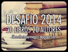 Desafío: 20 libros 20 autores