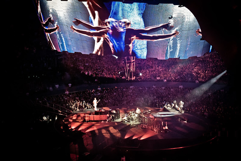 U2 w Seattle..
