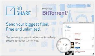SoShare: Comparte archivos de hasta 1 TB gratis gracias a Bittorrent