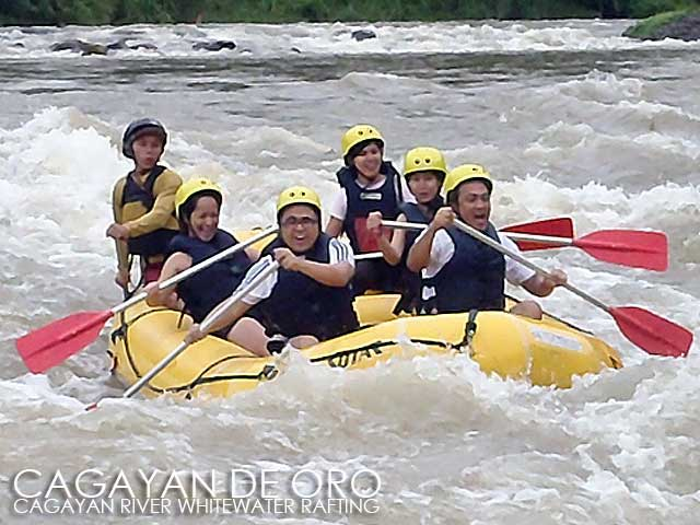 Cagayan De Oro Whitewater Rafting In The River
