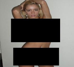 Se filtro la foto de Claudia Ciardone Foto escandalosa