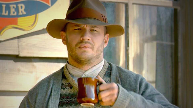 ฟอร์เรสต์ บอนดูแรนท์ (ทอม ฮาร์ดี้ ในหนัง Lawless)