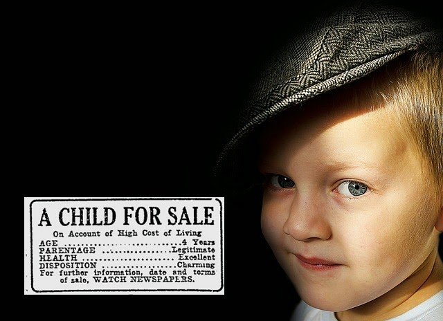 child for sale