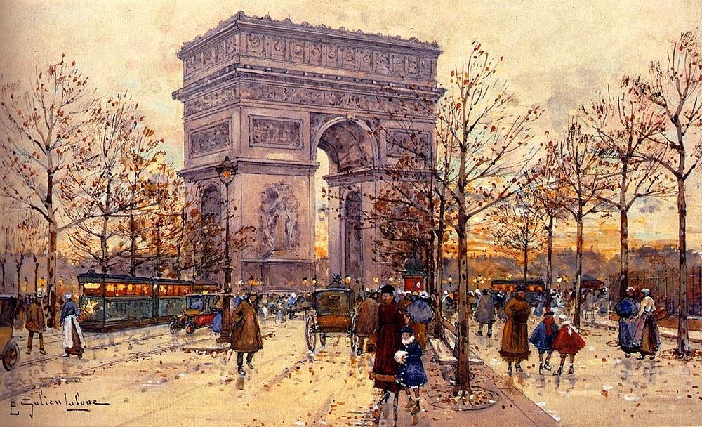 Eugène Galien-Laloue - Arc De Triomphe